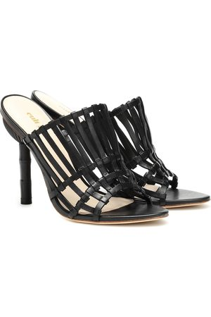 Cult Gaia Ark leather heels