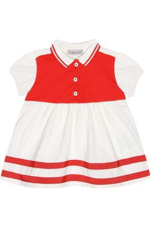 Moncler Stretch cotton pique dress