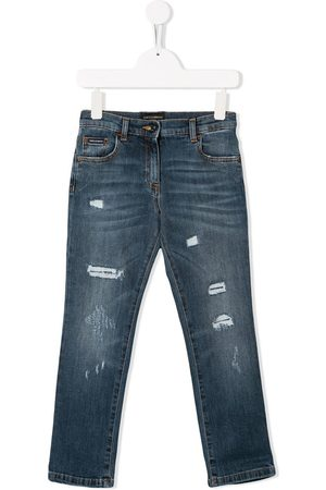 Dolce & Gabbana Patch slim-fit jeans