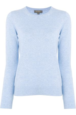 N.PEAL Women Jumpers - Crew neck cashmere sweater