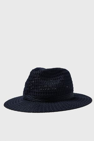 Zara Textured weave hat with band