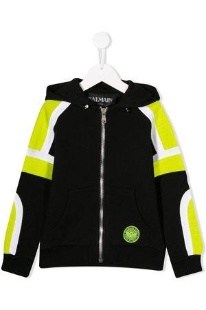 Balmain Colour block hoodie