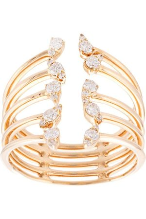 Dana Rebecca 14kt yellow gold Sophia Ryan diamond cocktail ring
