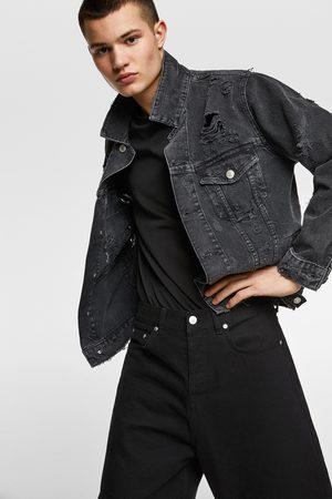 Zara Denim jacket with patch