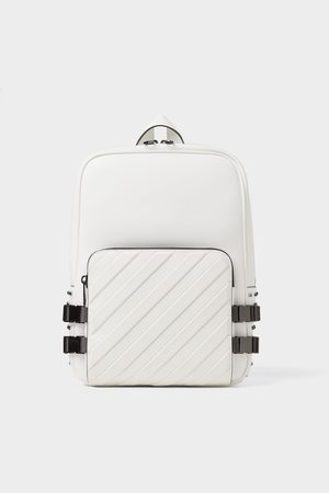Zara Backpack with metal trims