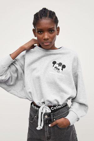 Zara Mickey glitch collection ©disney sweatshirt
