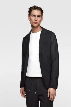 Zara Mesh textured blazer