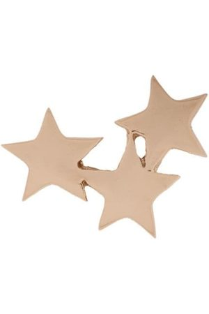 Milka 14kt Struck Triple Star stud