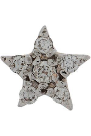 Milka 14kt star diamond stud