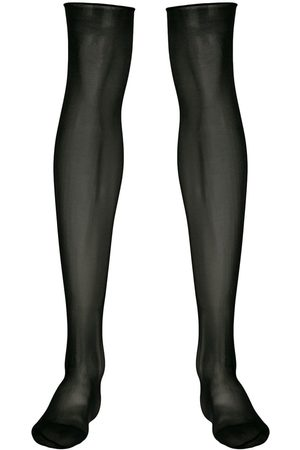 MAISON CLOSE Women Stockings - Sheer knee length stockings