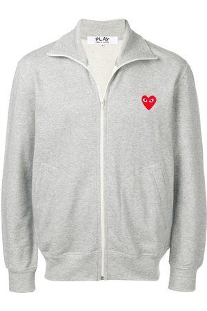 Comme des Garçons Heart print track jacket