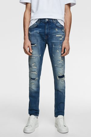 Zara Men Skinny - Ripped skinny jeans