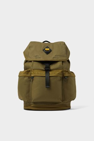 Zara Men Rucksacks - Backpack with multiple pockets