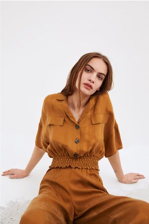 Zara Women Shirts - Flowing cropped shirt