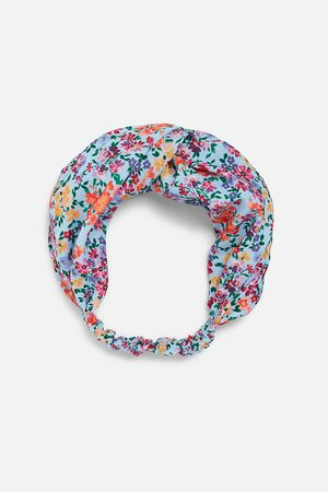 Zara Women Hair Accessories - Printed turban-style hairband