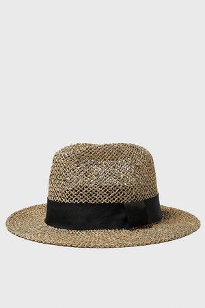 Zara Hat with ribbon