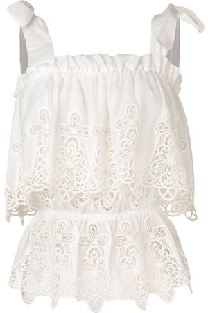 Dolce & Gabbana Women Tops - Intaglio embroidered top