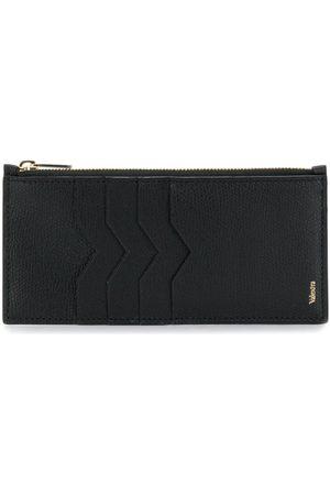 VALEXTRA Zip top cardholder wallet