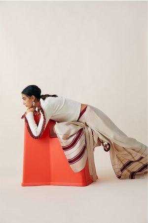 Zara Limited edition studio pareo trousers