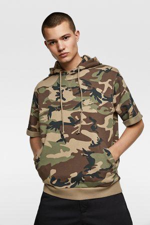 Zara Short sleeve hoodie