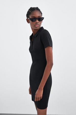 Zara Polo collar dress