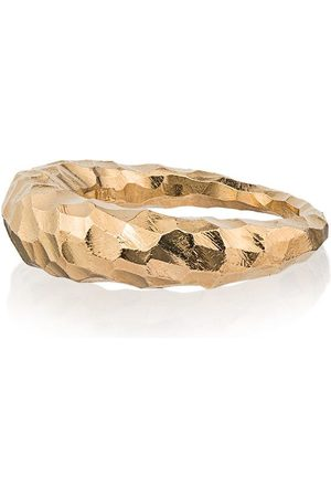 ALL BLUES Women Rings - Fat Snake carved gold vermeil ring