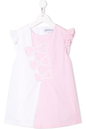 Simonetta Bow print dress