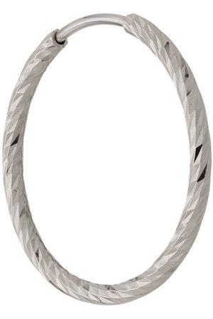 Maria Black 14kt white gold Liv 15mm hoop earring