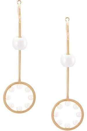 DELFINA DELETTREZ 18kt Yellow bubble pearl earring