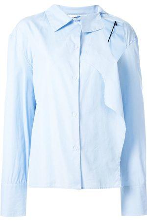Ground Zero Cut-out shoulder shirt