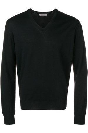 corneliani Knitted V-neck jumper