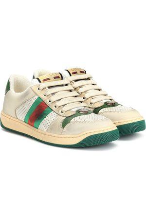 Gucci Women Sneakers - Screener leather sneakers