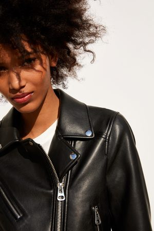 e368a41565c3 Buy Zara Leather Jackets for Women Online | FASHIOLA.ph | Compare & buy