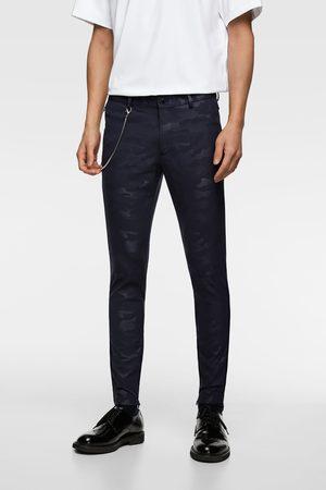 Zara Super skinny camouflage trousers