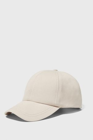 Zara Men Caps - Textured twill cap