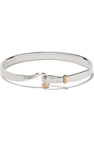 Georg Jensen Women Bracelets - Sterling silver and 18kt yellow gold Torun bangle