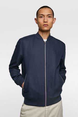 Zara Rustic bomber jacket