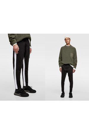 Zara Trousers - SOFT DENIM JOGGING TROUSERS