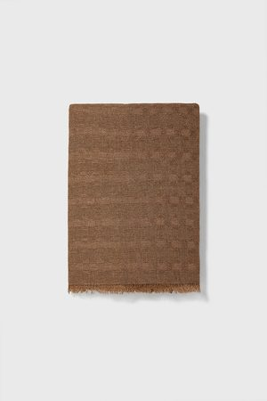 Zara Men Scarves - Basic textured scarf
