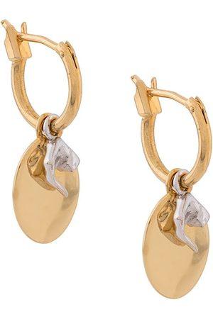 Coup De Coeur Disc and hoop earrings