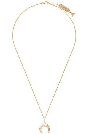 Coup De Coeur Horn pendant necklace