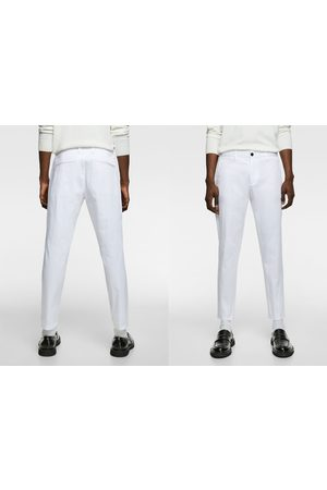 Zara Men Chinos - New cropped chino trousers