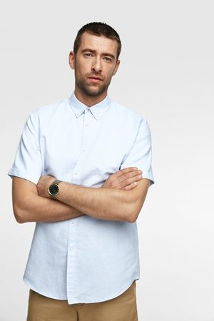 Zara Short sleeve rustic shirt