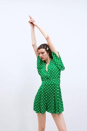 Zara Short polka dot jumpsuit