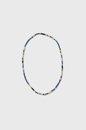 Zara Blue beaded necklace