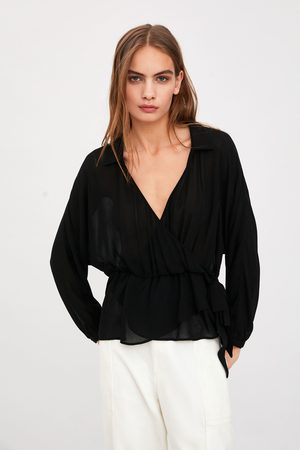 Zara Women Shirts - Semi-sheer shirt