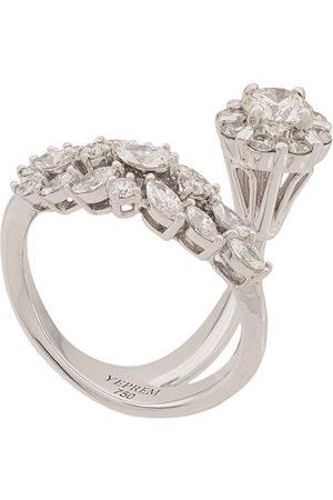 Yeprem 18kt diamond cluster ring
