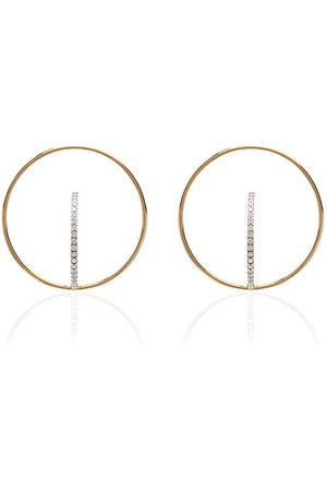 CHARLOTTE CHESNAIS Saturn hoop earrings