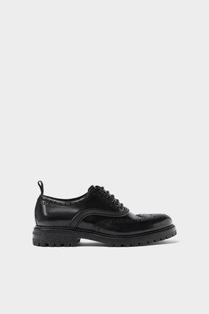 Zara Leather brogues