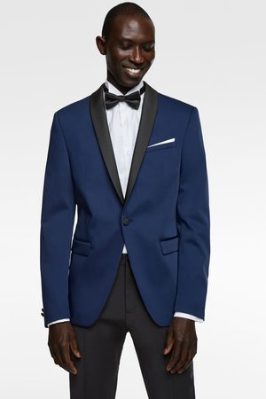 Zara Contrast technical blazer